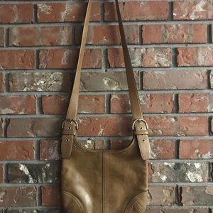 Vintage Coach Cross Body Bag